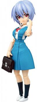 Rebuild of Evangelion Parfom R! Action Figure - Rei Ayanami: School Uniform Ver.