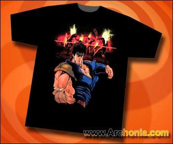 Fist of the North star Death T-shirt XL