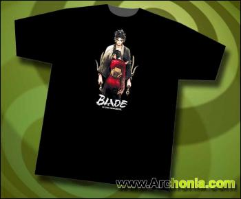 Blade of the immortal Manji & Rin black T-shirt L