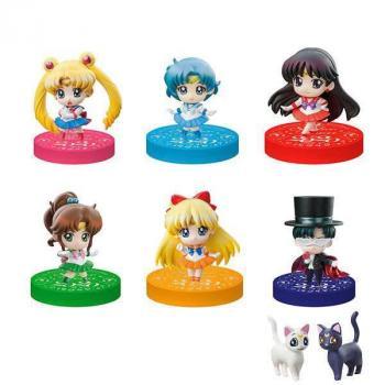 Sailor Moon Petit Chara Trading Figure Puchitto Oshioki Yo! 2020 Ver. Limited Set (Full Box)