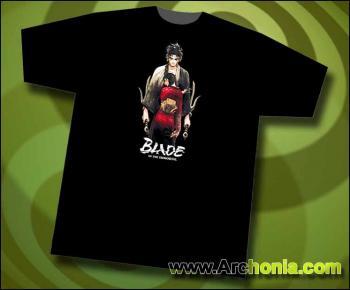 Blade of the immortal Manji & Rin black T-shirt XL