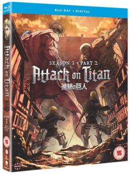 Attack on Titan Season 03 Part 02 Blu-Ray UK