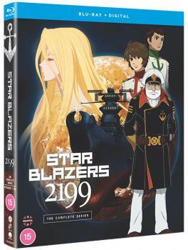 Star Blazers Space Battleship Yamato 2199 The Complete Series Blu-Ray UK