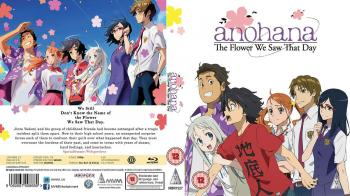 Anohana - The Flower We Saw That Day TV Series Collection Blu-Ray UK