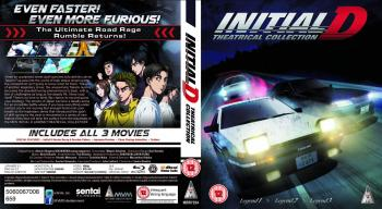 Initial D Legend Movie Collection Blu-Ray UK