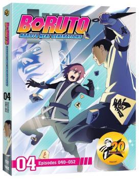 Boruto Naruto Next Generations Set 04 DVD