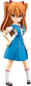 Rebuild of Evangelion Parfom R! Action Figure - Asuka Shikinami Langley School Uniform Ver.