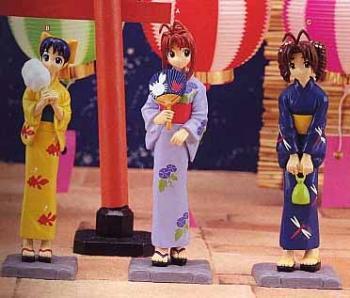 Love Hina Kimono Figure Mutsume