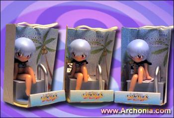 Shin evangelion Mini Display Figure A