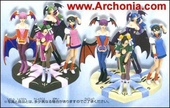 Capcom character Valentine Blue version Lilith