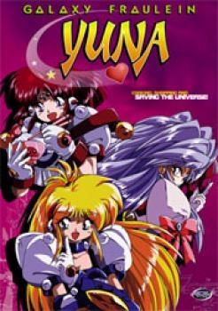 Galaxy Fraulein Yuna vol 1 DVD