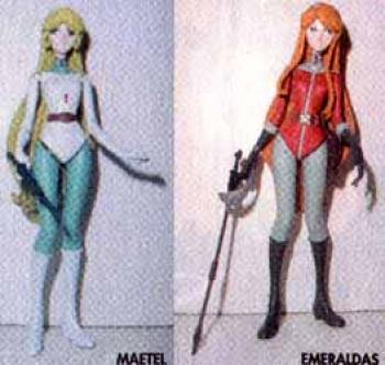 Maetel legend action figure 2 pack