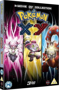 Pokemon Movie 17-19 XY DVD UK