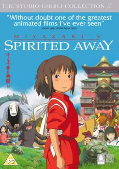 Spirited Away DVD UK