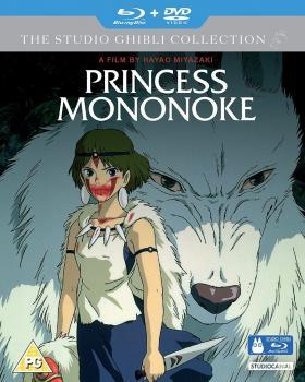 Princess Mononoke DVD/Blu-Ray Combo UK