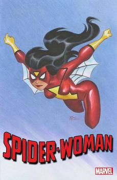 SPIDER-WOMAN #1 TIMM 1:25 VAR