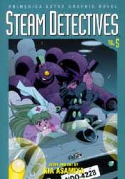Steam detectives vol 5 TP