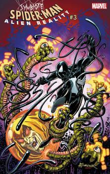 SYMBIOTE SPIDER-MAN ALIEN REALITY #4 (OF 5) SAVIUK 1:25 VAR