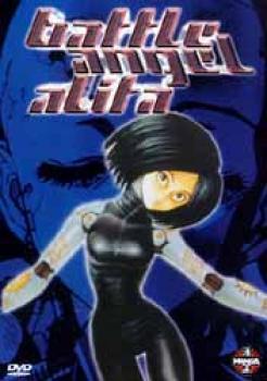 Battle angel Alita DVD Dutch