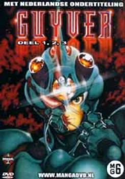 Guyver vol 1-3 DVD Dutch