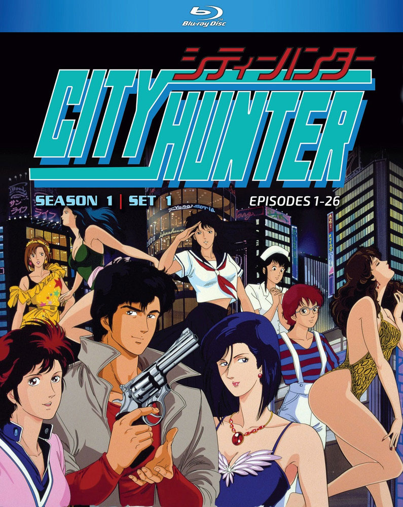 Kaufen BluRay - City Hunter Season 01 Part 01 Blu-Ray - Archonia.de