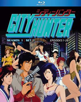 City Hunter Season 01 Part 01 Blu-Ray