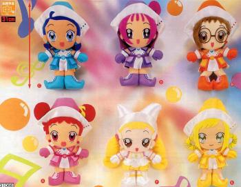 Ojamajo Doremi DX Series Deluxe Stuffed toy Hazuki