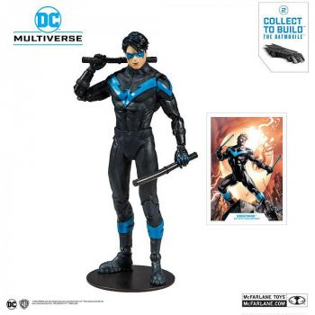 "DC Rebirth ""Build A"" Action Figure - Nightwing (Better Than Batman) 18 cm"