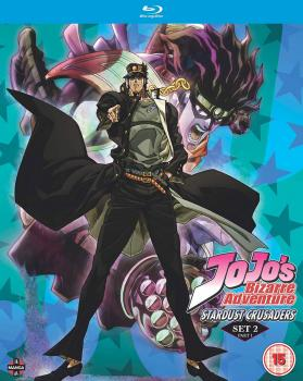 Jojo's Bizarre Adventure Set 02 Stardust Crusader Part 01 Blu-Ray UK