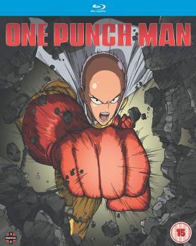 One-Punch man Season 01 (Episodes 1-12 + 6 OVA) Blu-Ray UK