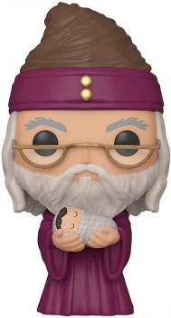 Harry Potter Pop Vinyl Figure - Dumbledore with Baby Harry