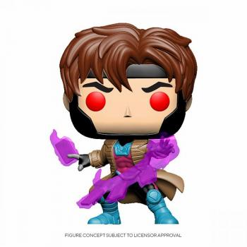 Marvel X-Men Classic Pop Vinyl Figure - Gambit with Cards