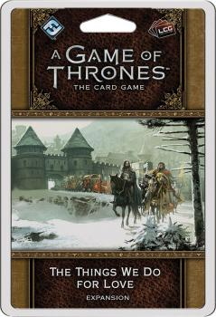 A Game of Thrones LCG 2nd Edition - Premium Pack The Things We Do for Love
