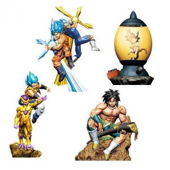 Dragonball Super Dracap Trading Figure - Re: Birth Super Power Ver. Assortment (4)