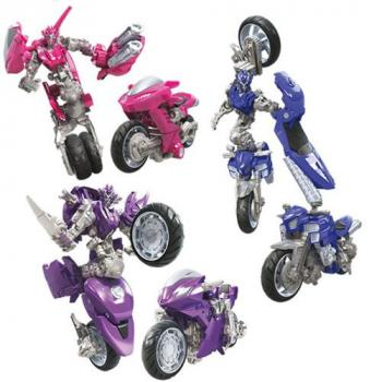 Transformers Studio Series Premier Action Figure - Deluxe Wave 08 - Arcee 3-Pack