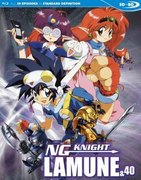 NG Knight Lamune & 40 Blu-Ray
