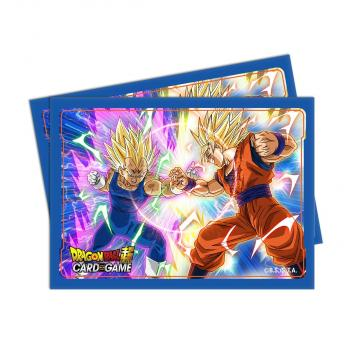 Dragon Ball Super Standard Size Deck Protector Sleeves Set 4 - Vegeta vs Goku (65)