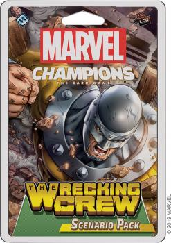 Marvel Champions Living Card Game - 03 The Wrecking Crew Scenario Pack