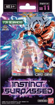 Dragon Ball Super TCG Series 09 Starter Deck 11 Instinct Surpassed