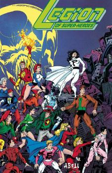 LEGION OF SUPER HEROES FIVE YEARS LATER OMNIBUS (HARDCOVER)