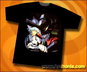 Neon genesis evangelion Rei T-shirt XL