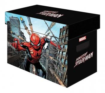 MARVEL GRAPHIC COMIC BOXES NON-STOP SPIDER-MAN (ONE BOX + LID)