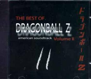 The best of dragonball Z volume 2 American soundtrack CD