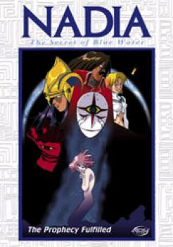 Nadia Secret of Blue water vol 10 The prophecy fulfilled DVD