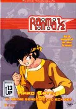 Ranma 1/2 Season 03 Hard battle DVD box set