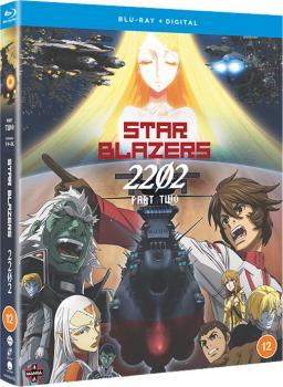 Star Blazers Space Battleship Yamato 2202 Part 02 Blu-Ray UK
