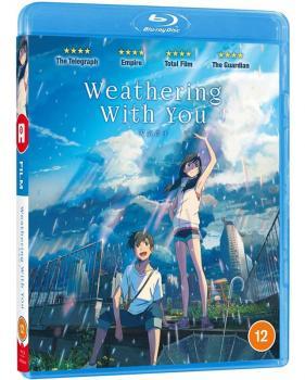 Weathering with you Blu-Ray UK