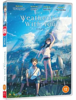 Weathering with you DVD UK