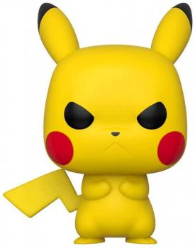 Pokemon Pop Vinyl Figure - Grumpy Pikachu