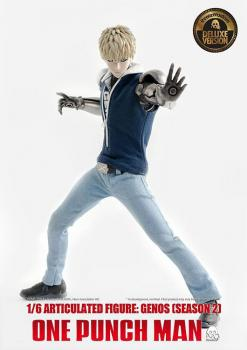 One Punch Man Action Figure - Genos (Season 2) Deluxe Version 1/6